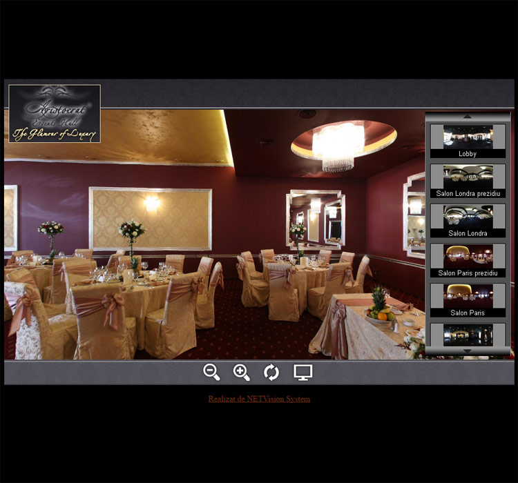 Tur virtual Aristocrat Events Hall