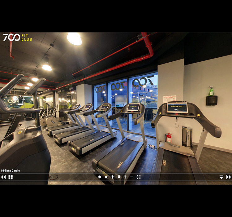 Tur Virtual - 700 Fit Club